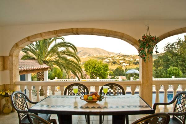 Late booking holiday rental villas javea costa blanca for Outdoor furniture javea