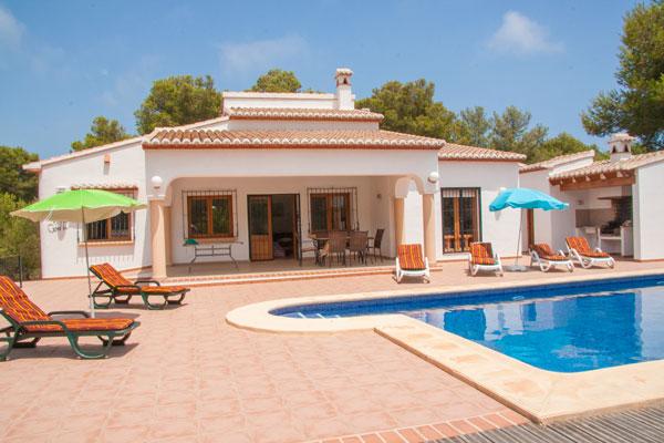 Our 4 bedroom villa, Villa Cebolla